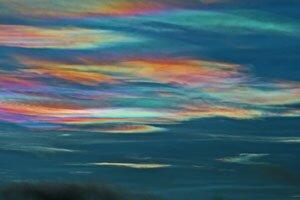 Lapland Nacre clouds